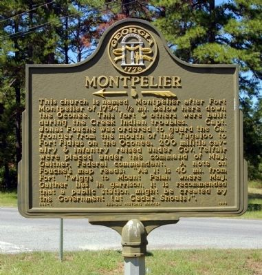 Montpelier Marker image. Click for full size.