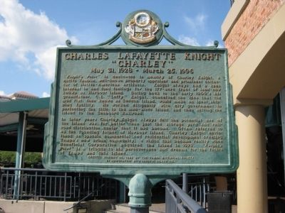 Charles Lafayette Knight Marker image. Click for full size.