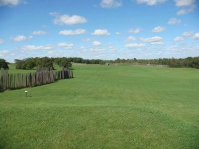 View from Platform Mound Photo, Click for full size