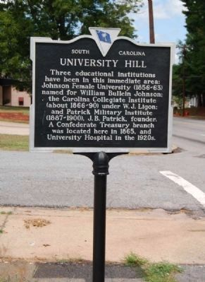 University Hill Marker Photo, Click for full size