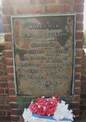 World War Marker image. Click for full size.