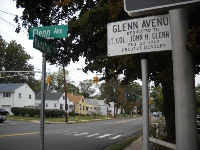 Glenn Avenue Marker image. Click for full size.