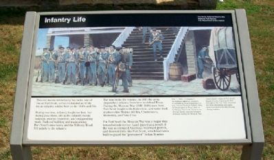 Infantry Life Marker image. Click for full size.