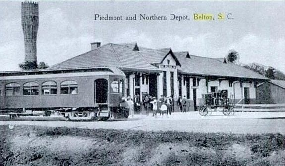 The Piedmont and Northern Depot Photo, Click for full size