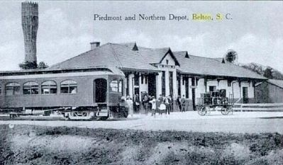 The Piedmont and Northern Depot image. Click for full size.