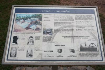 Tannehill Ironworks Marker Photo, Click for full size