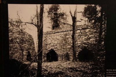 Ruins of the Tannehill Ironworks 1890 Photo, Click for full size