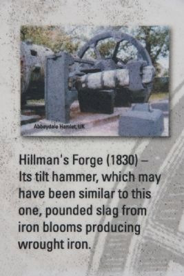 Example photo of the Hillman's Forge Photo, Click for full size