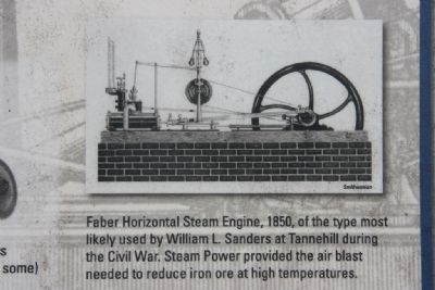 Image of a Faber Horizontal Steam Engine image. Click for full size.