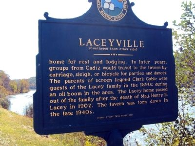 Laceyville Marker image. Click for full size.