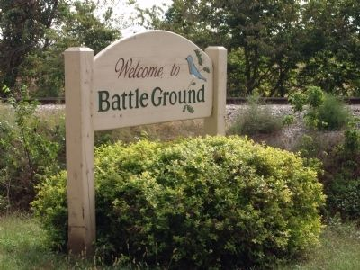 Sign - - Welcome to Battle Ground image. Click for full size.
