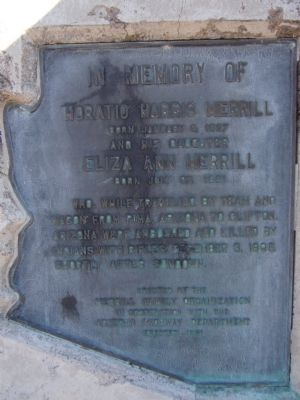 Horatio Harris Merrill Marker Photo, Click for full size