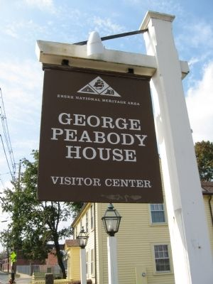George Peabody House Museum image. Click for full size.