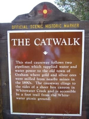 The Catwalk Marker image. Click for full size.