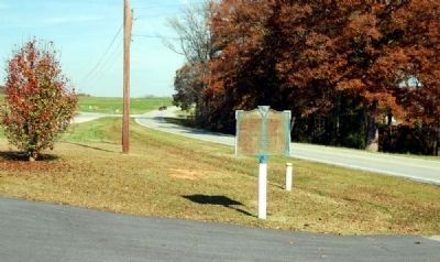 Barkers Creek Baptist Church Marker Photo, Click for full size