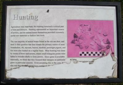 Hunting Marker Photo, Click for full size