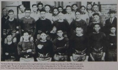 Honea Path - Reverse<br>Honea Path High School Football Team Photo, Click for full size