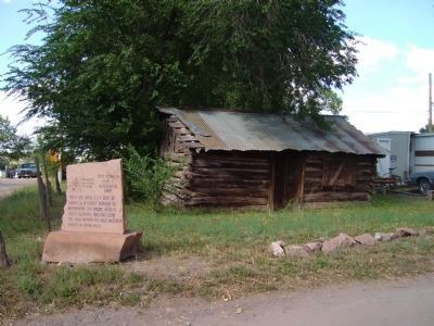 Peter Thompson Home & Blacksmith Shop image. Click for full size.
