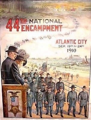 44th National Encampment Grand Army of the Republic Marker image. Click for full size.