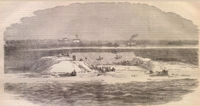Ironclad Battery on Cummings Point image. Click for full size.