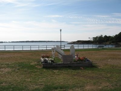 Gloucester World War II Merchant Marine Monument image. Click for full size.