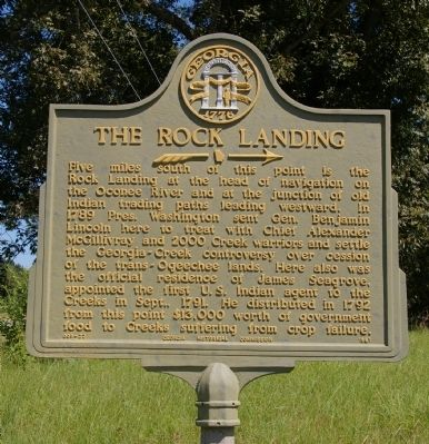 The Rock Landing Marker image. Click for full size.