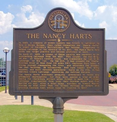 The Nancy Harts Marker image. Click for full size.