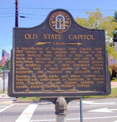 Old State Capitol Marker image. Click for full size.
