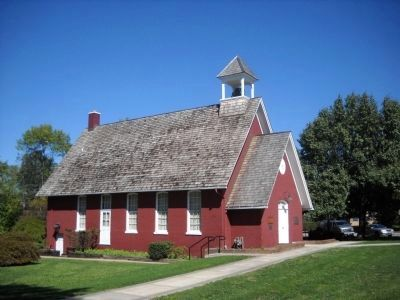 Little Red School House image. Click for full size.