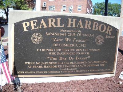 Pearl Harbor Square Marker image. Click for full size.