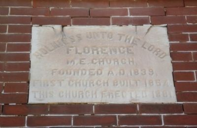 Florence M. E. Church Marker image. Click for full size.