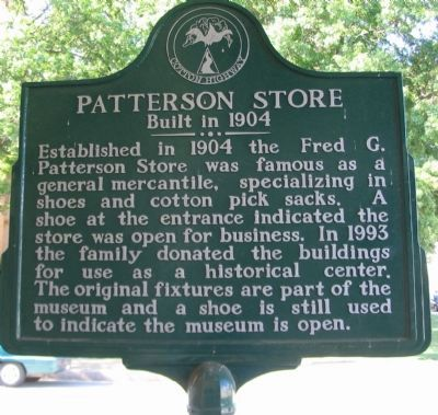 Patterson Store Marker image. Click for full size.