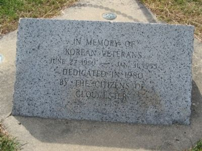 Gloucester Korean – Vietnam Veterans Monument image. Click for full size.