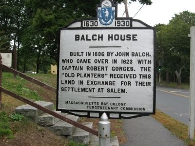 Balch House Marker image. Click for full size.