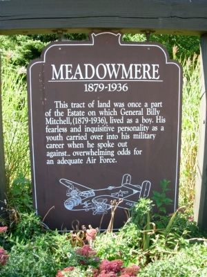 Meadowmere Marker image. Click for full size.