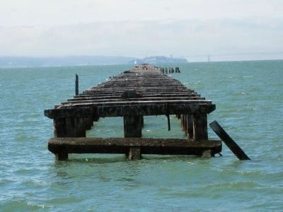 Pier Remnants Photo, Click for full size