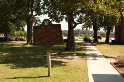 Bellevue Marker on the campus of Augusta State University image. Click for full size.