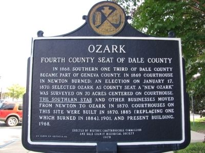 Ozark Marker image. Click for full size.
