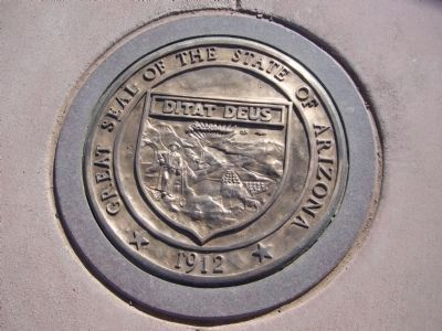Arizona State Seal image. Click for full size.