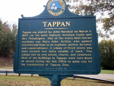 Tappan Marker image. Click for full size.