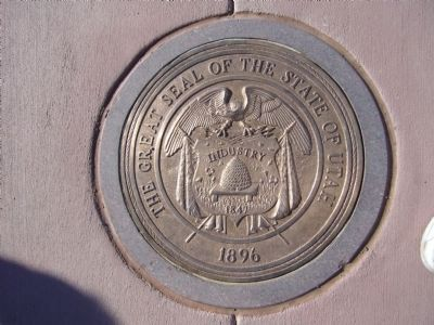 Utah State Seal image. Click for full size.