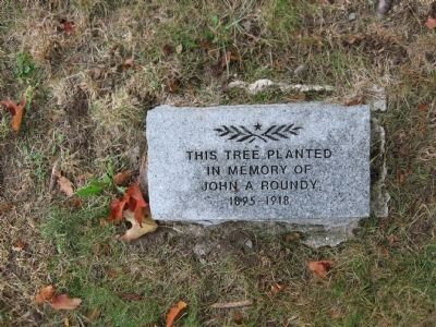 Memorial Tree Marker image. Click for full size.