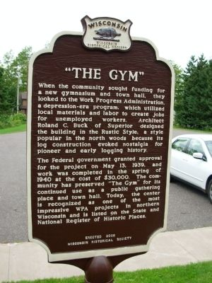 """The Gym"" Marker image. Click for full size."