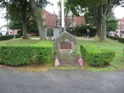 Marblehead World War I Memorial image. Click for full size.