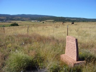 26 Bar Hereford Ranch Marker Photo, Click for full size
