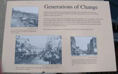Generations of Change Marker image. Click for full size.