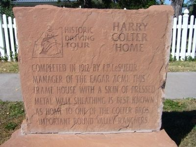 Harry Colter Home Marker image. Click for full size.