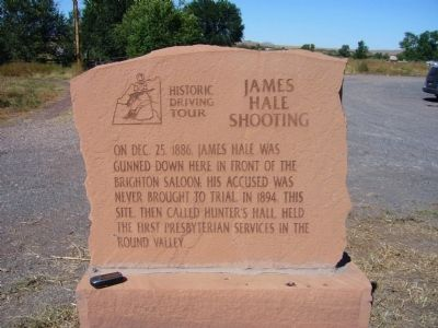 James Hale Shooting Marker image. Click for full size.