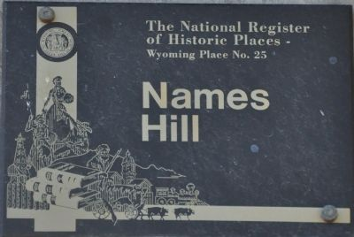 Names Hill Marker image. Click for full size.