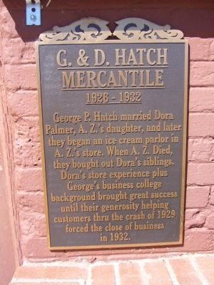 G. & D. Hatch Mercantile Marker image. Click for full size.